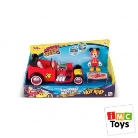 MICKEY MOUSE COCHE TRANSFORMABLE