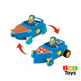 MICKEY MOUSE- DONALD COCHE TRANSFORMABLE