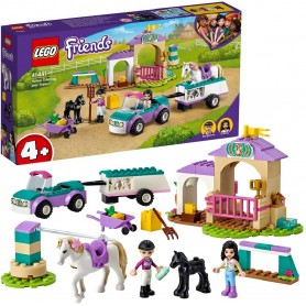 LEGO FRIENDS ENTRENAMIENTO Y REMOLQUE ECUESTRE 41441