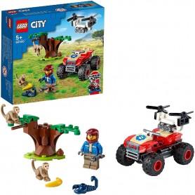 RESCATE DE FAUNA SALVAJE LEGO CITY 60300