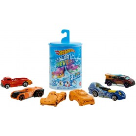 HOT WHEELS PACK 2 VEHICULOS COLOR REVEAL