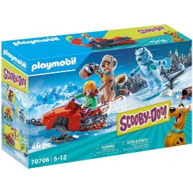PLAYMOBIL - SCOOBY-DOO! AVENTURA CON SNOW GHOST 70706