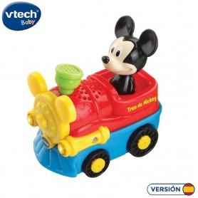 VTECH BABY TUT TUT BOLIDOS - TREN MICKEY