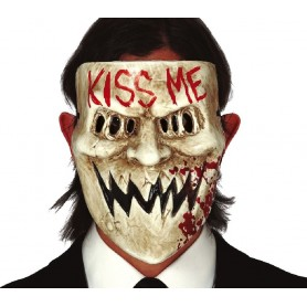 """MASCARA """"KISS ME"""" PVC"""